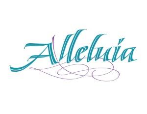 Alleluia graphic