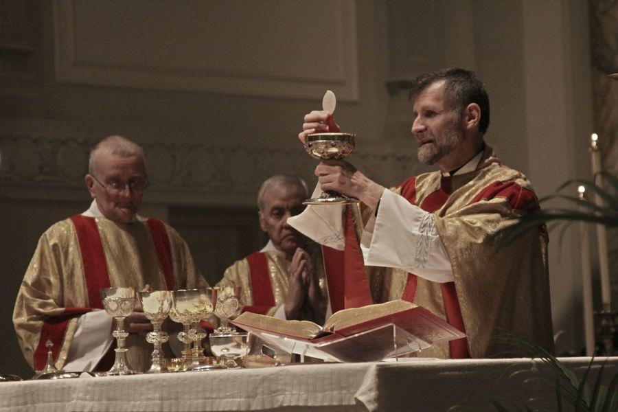 Holy Cross Catholic Church Catholic Champaign Illinois Il